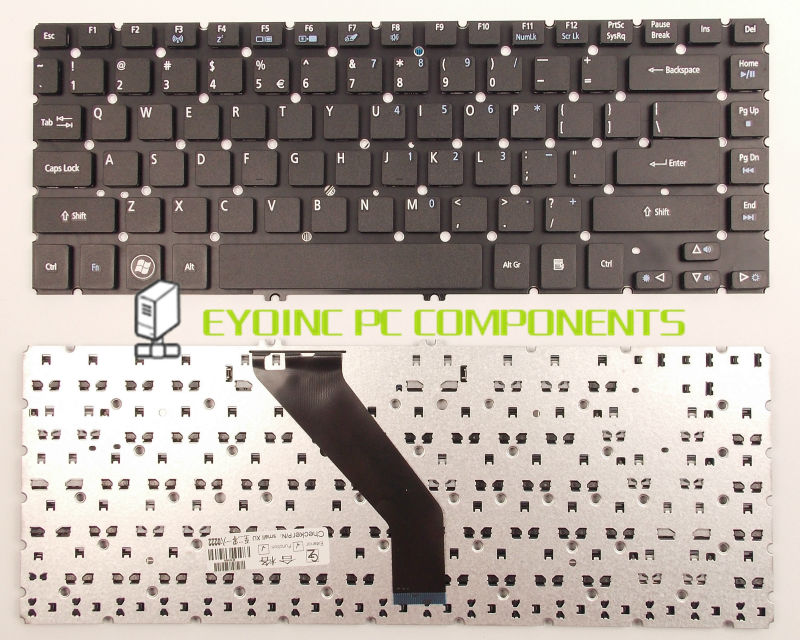 Laptop Keyboard For Acer Aspire V5-471 V5-471P V5-471G V5-471PG V5-471-6489 US Version ...
