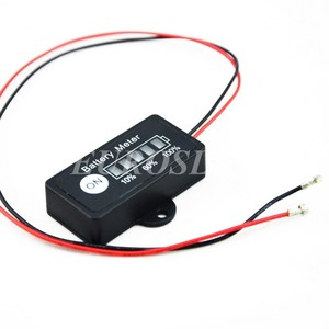 Image 1 - Commercio allingrosso 10 pz 10.8 V battery meter indicatore monitor per 10.8 V 11.1 V 3 celle Li Ion batteria Lipo