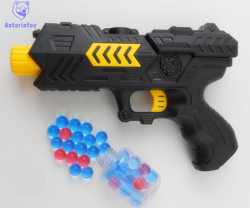 Paintball Gun Pistol & Soft Bullet Gun Plastic Toys CS Game Shooting Water Crystal Gun Air Soft Gun Airgun Summer Fun Toy
