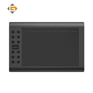 GAOMON M106K-профессиональный планшет для рисования набросков, анимация, цифровое письмо, планшет для художника с 12 Экспресс-клавишами