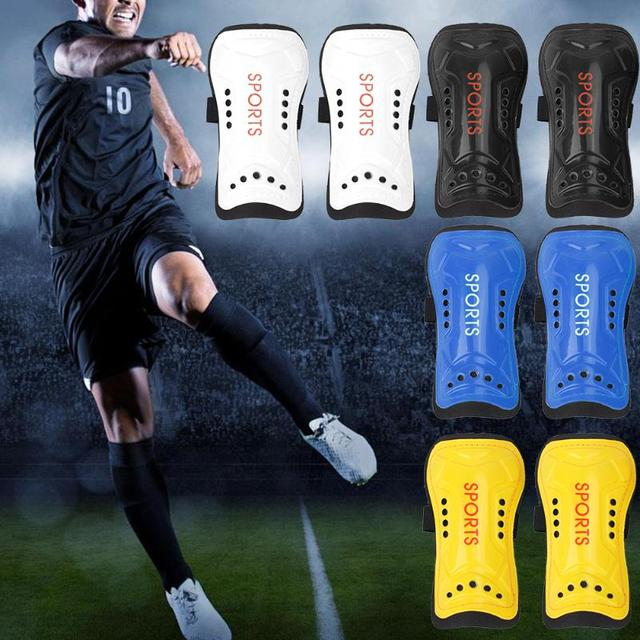 Light Soft Football Shin Pads Soccer Guards Sports Leg Protector Kids Adult