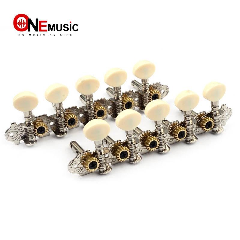 Mandolin 10 String Electric Guitar Tuning Key Machine Head 5R5L Chrome