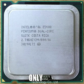 2.7Ghz// 2M //800GHz Original Intel Pentium Dual-Core E5400 Socket LGA 775 CPU Processor