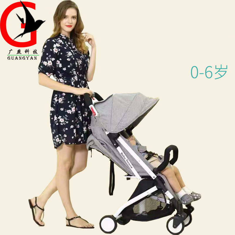 Brand baby stroller light portable can lying can sit folded children's carts baby umbrella Stroller newborn Baby Carriage high profile luxury baby stroller can sit can lying baby carriage hand can adjustable trolley war ax wheel umbrella car