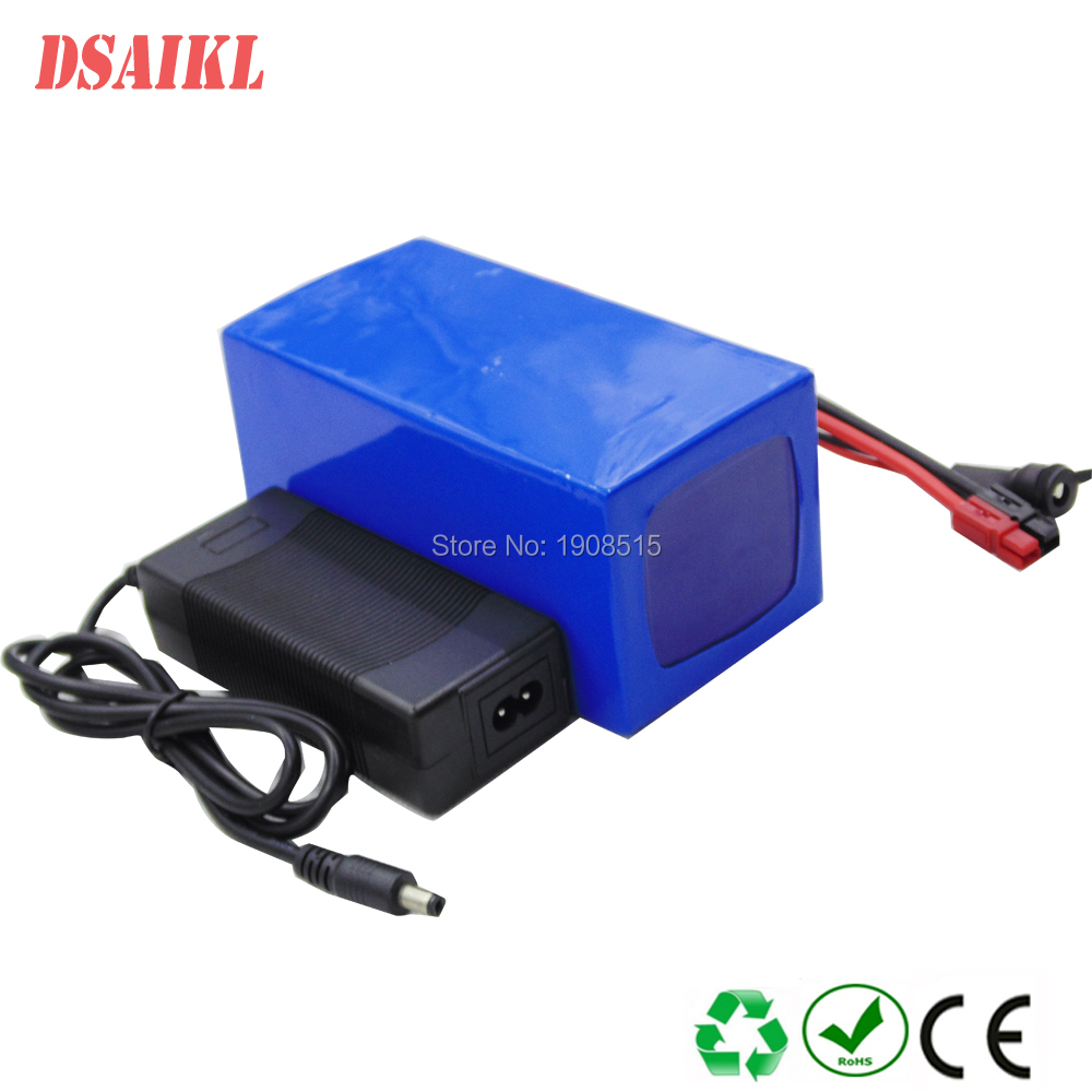 Small size 24v 15ah battery pack lithium 24v electric bike li-ion battery+ 29.4v 2A charger new high quality 29 4v 2a electric bike lithium battery charger for 24v 2a lithium battery pack rca plug connector charger