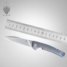 Kizer folding knife new slim pocket Splinter designed by Tomcat Knives high quality camping tool