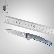 Kizer folding knife new slim pocket Splinter designed by Tomcat Knives high quality camping tool