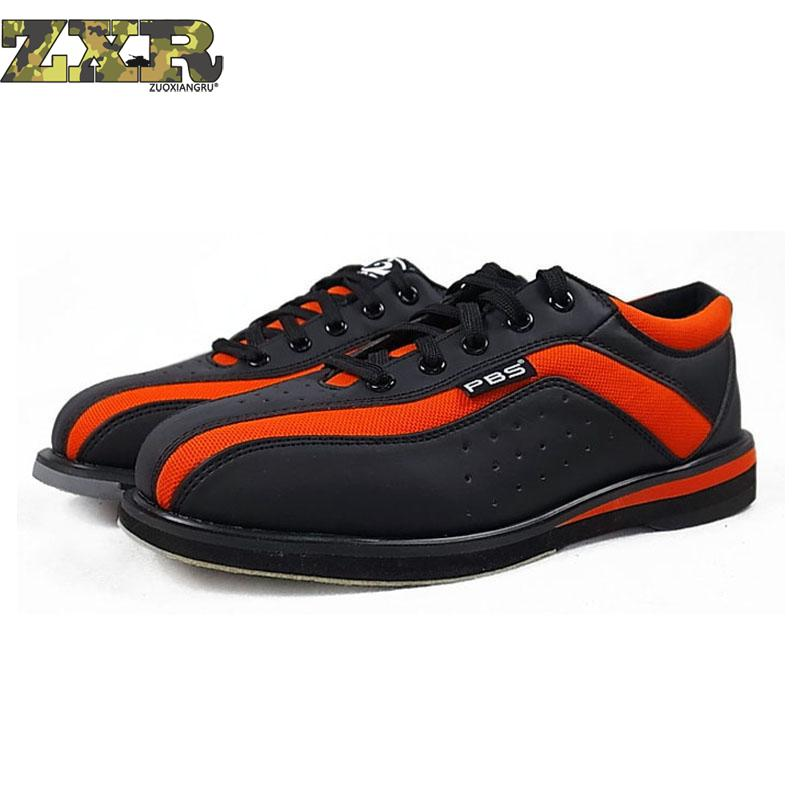 Black Red Bowling Shoes Unisex Essential Beginners With Sports Shoes High Quality Couple Models Men Women Sneakers