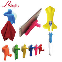Slingifts 20 Set (3pcs/set) Colorful Toothbrush Holder Set Suction Cup Hooks for Mounting on Smooth Wall In Bathroom Home Office