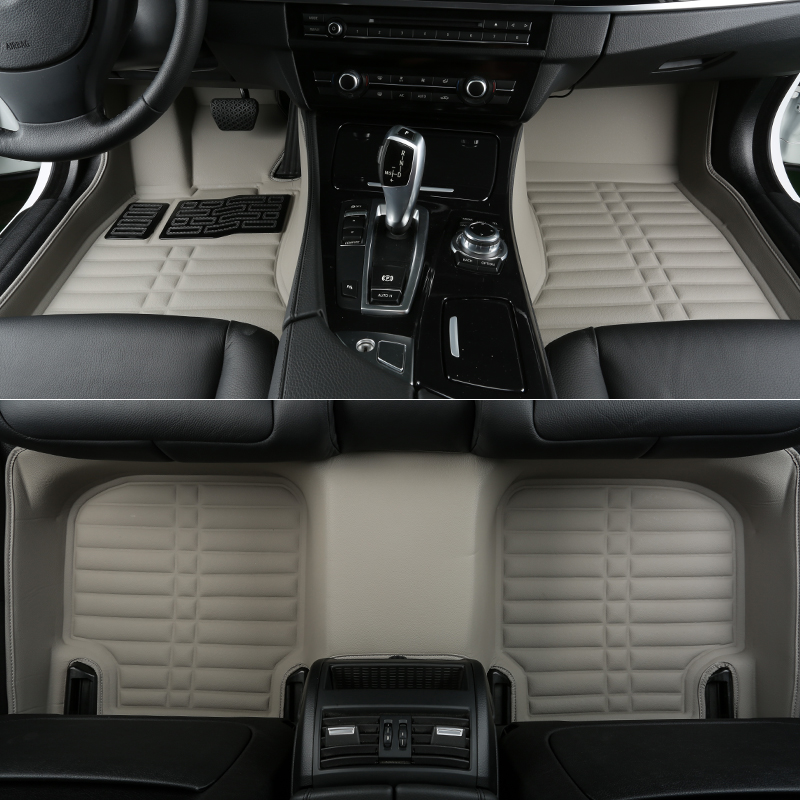 Hohe qualität! kundenspezifische sonder auto fußmatten für Jaguar XF 2018-2016 wasserdichten haltbaren auto teppiche für XF 2017, Freies verschiffen