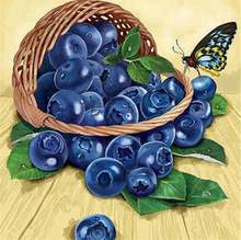 Diy Алмазная картина виноград вышивка ручной работы Рукоделие
