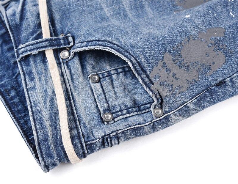 jeans stretch biker da cowboys hip hop streetwear punk hole.  TIM20180721150040. 1 2 3 4 5 6 ... ea8dc2069a7e