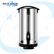 HL15A Электрический кипячение воды машина из нержавеющей стали бойлер подогреватель молока бойлер бар оборудование 6L/8L/10L/12L/16L/20L/30L/48L