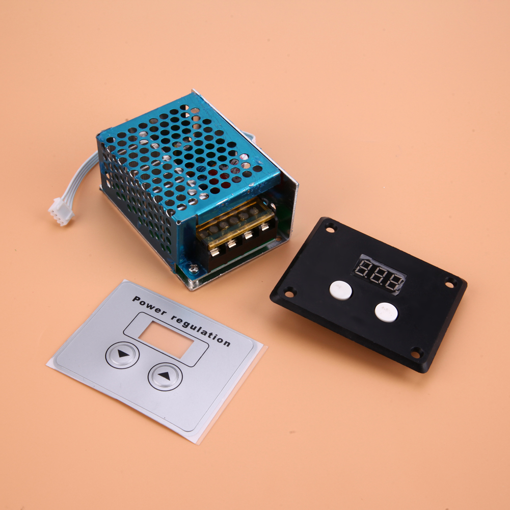 Ac 220v 4000w Scr Speed High Power Regulator Dimming Dimmers Controller Thermostat Electronic Voltage Module In Motor From Herrold Triac Controllers Home
