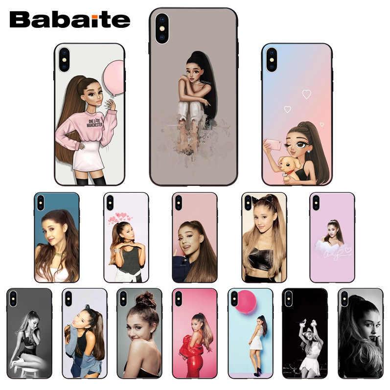 สำหรับ iPhone 11pro MAX NO Tears ซ้าย TO Cry Ariana Grande โทรศัพท์กรณีสำหรับ iPhone 6S 6plus 7 7plus 8 8 PLUS X XS MAX 5 5S XR