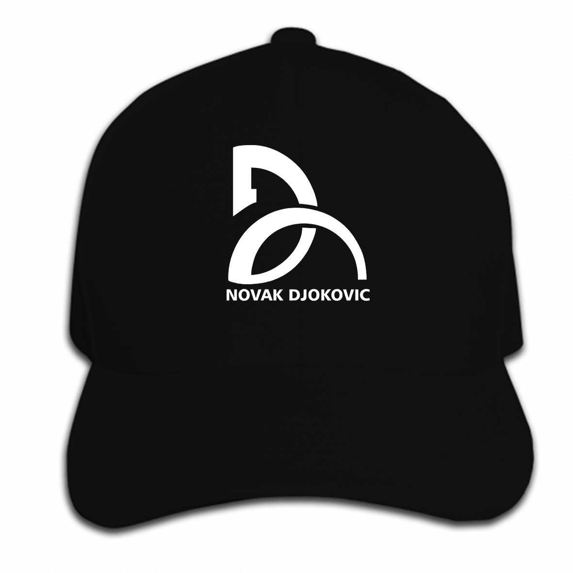 Print Custom Baseball Cap Novak Djokovic Logo Summer Cool Classic Hat  Peaked cap 5c02927f8079