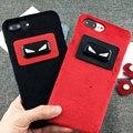 Мода Заботиться О маленьких Монстров Плюшевые Крышка Телефона Чехол Для Apple iPhone 6 6 S 6 Plus 6 splus 7 7 Плюс Телефон Крышка Коке Fundas