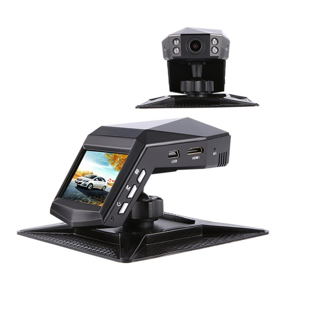 Новый мини Автомобильный dvr 2 ЖК-дисплей видео рекордер с парфюмом 1296 P Full HD 170 градусов широкоугольный ночного видения Автомобильная камера ...