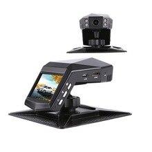 """Новый мини Автомобильный dvr 2 """"ЖК-дисплей видео рекордер с парфюмом 1296 P Full HD 170 градусов широкоугольный ночного видения Автомобильная камера Dash Cam"""