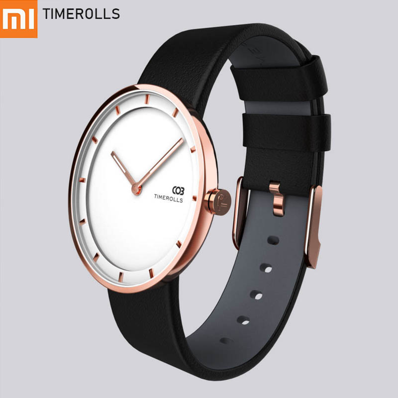 Xiaomi Mijiia TIMEROLLS COB Quartz Wrist Watch Luminous Pointer Stainless Steel Water Resistant Watches Men Women Luxury Watches-in Smart Wristbands from Consumer Electronics    1