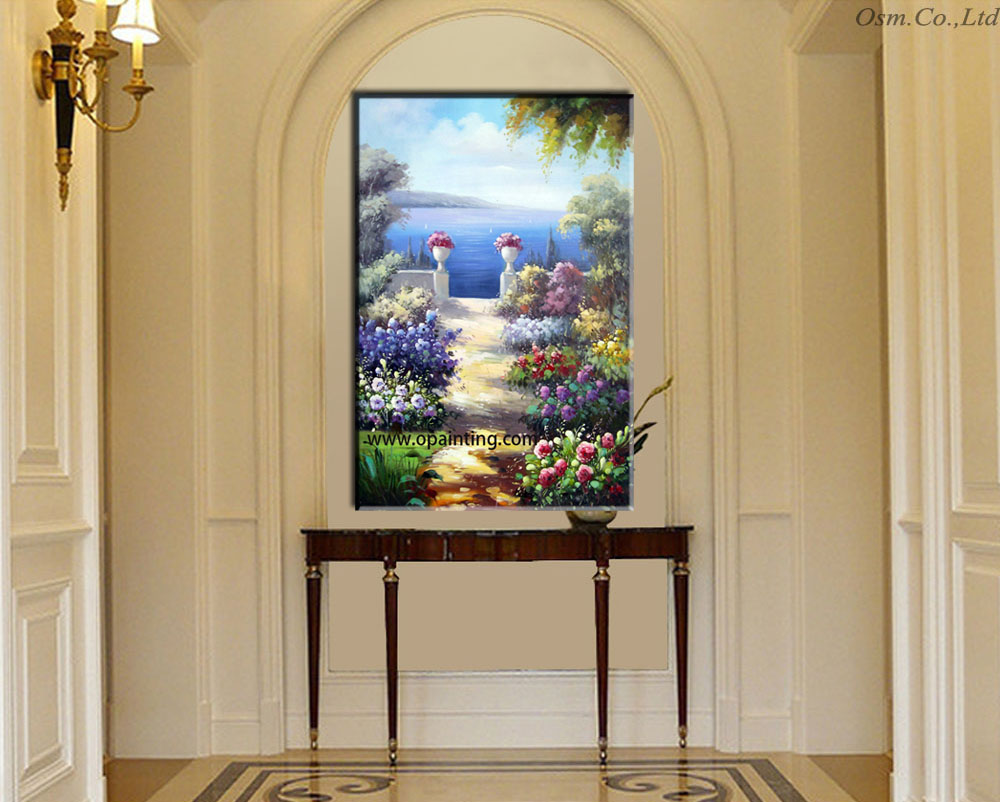 hot slae handmade painting wall pictures for living room mural