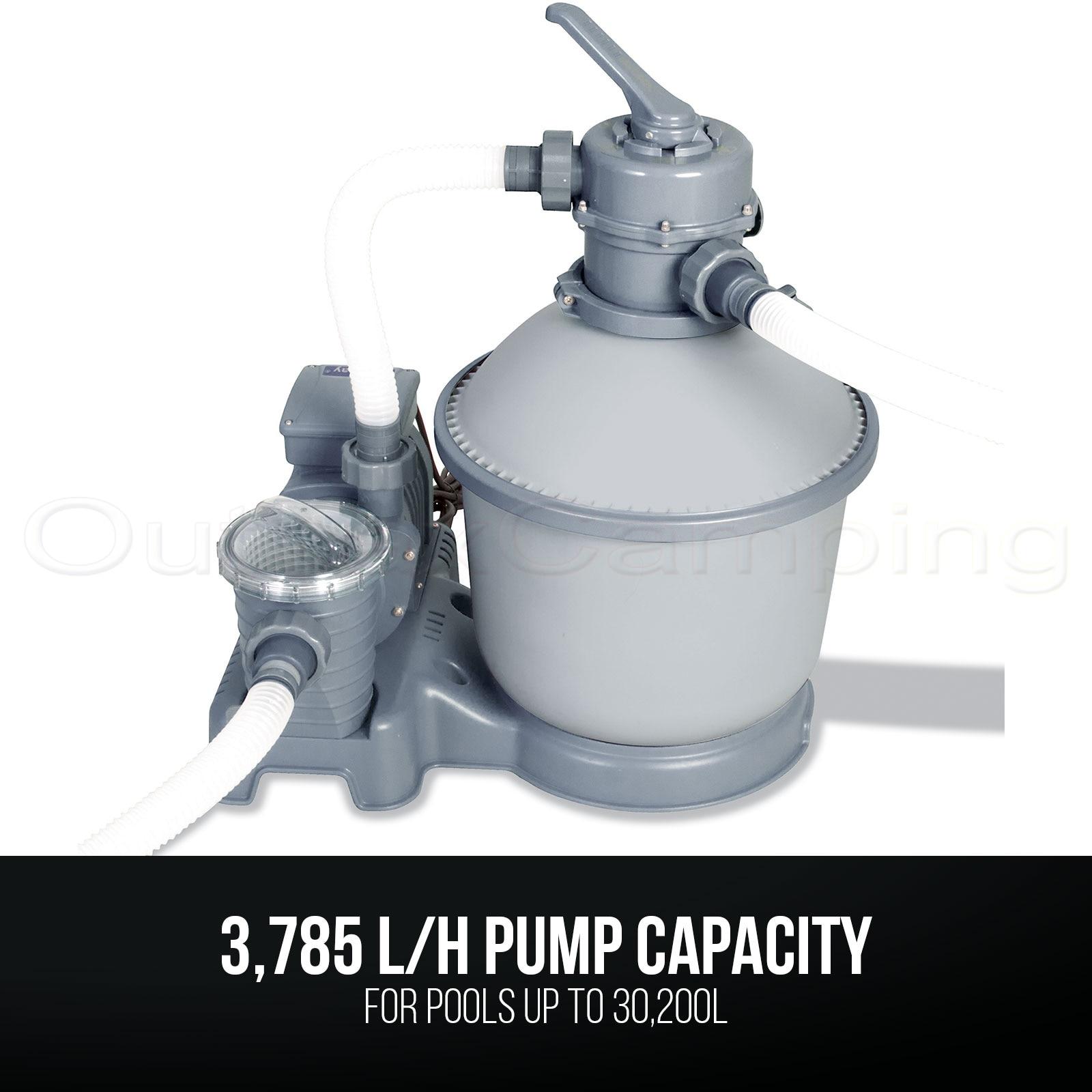 Bestway Flowclear Filtre A Sable 58400 Pompe Pour Piscines Hors Sol Aliexpress