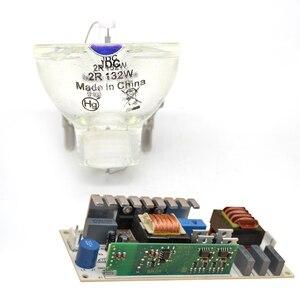 Image 5 - Lampa 2R lampa metalohalogenkowa ruchoma belka z zasilaniem 132W zapasowy akumulator balastowy