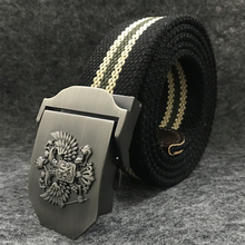 LITTOX Russian National Style Tactical Belt  Military Canvas Belt For Men and Women Unisex Jeans Belts 2017 High Qulity