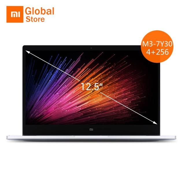12.5 inch Xiaomi Mi Notebook Air Original Intel Core M3-7Y30 CPU 4GB RAM 256GB SSD FHD Display Laptop PC Windows 10