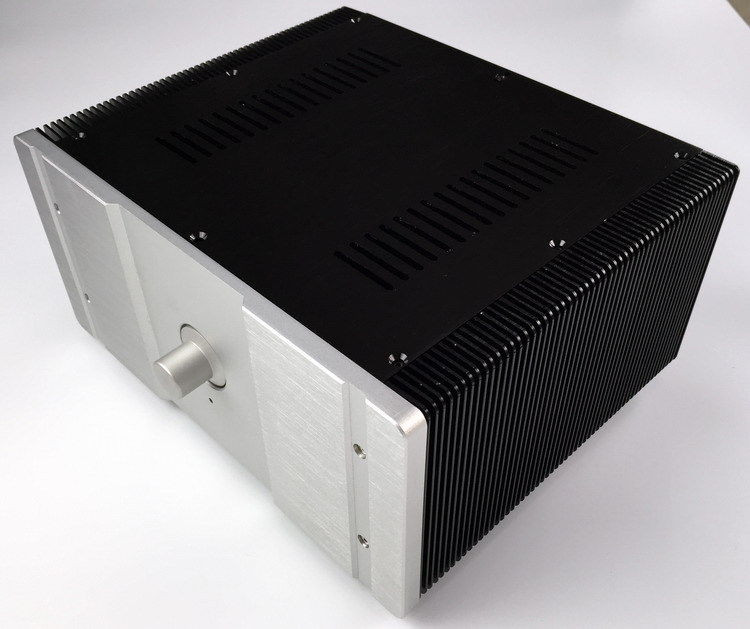 New WA27 Full Aluminum amplifier Enclosure AMP case/ Preamp box/ PSU chassis wf1187 full aluminum audio amplifier chassis preamp enclosure tube amp box dac case 326 82 245mm with aluminum machine feet