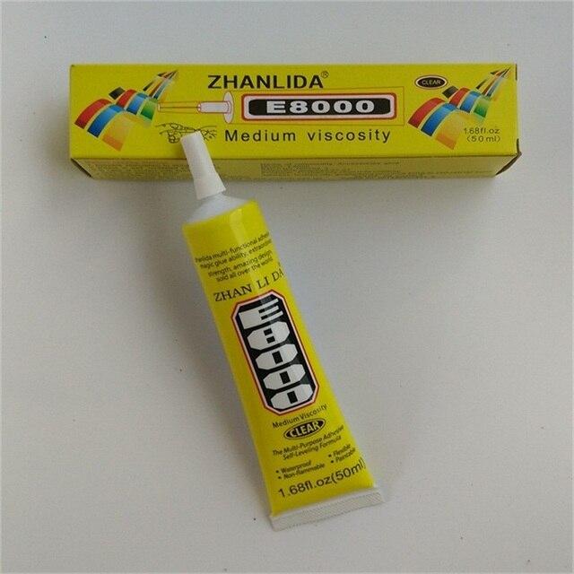 97611e0e67d Nuevo 50 ML E8000 pegamento para pantalla táctil MARCO DE TELÉFONO MÓVIL  resina epoxi adhesivo Diy