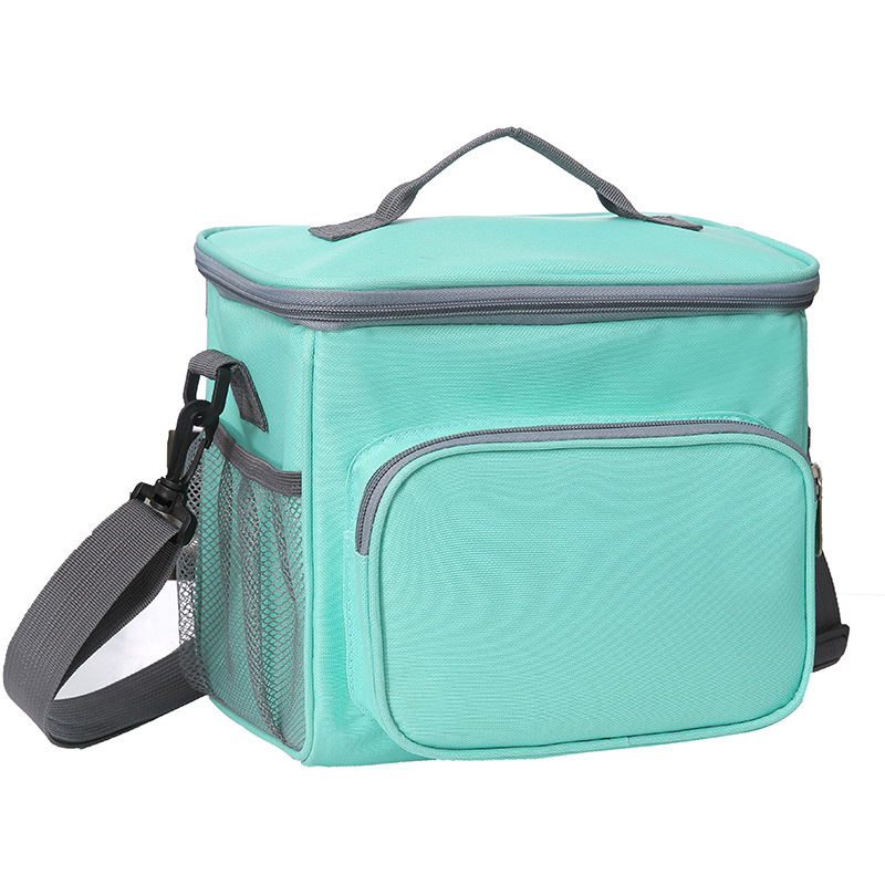 Large Shoulder Thicker Cooler Bag Thermal Lunch Bag Tote Insulated Ice Pack Portable Picnic Drink Food Beer Storage Container