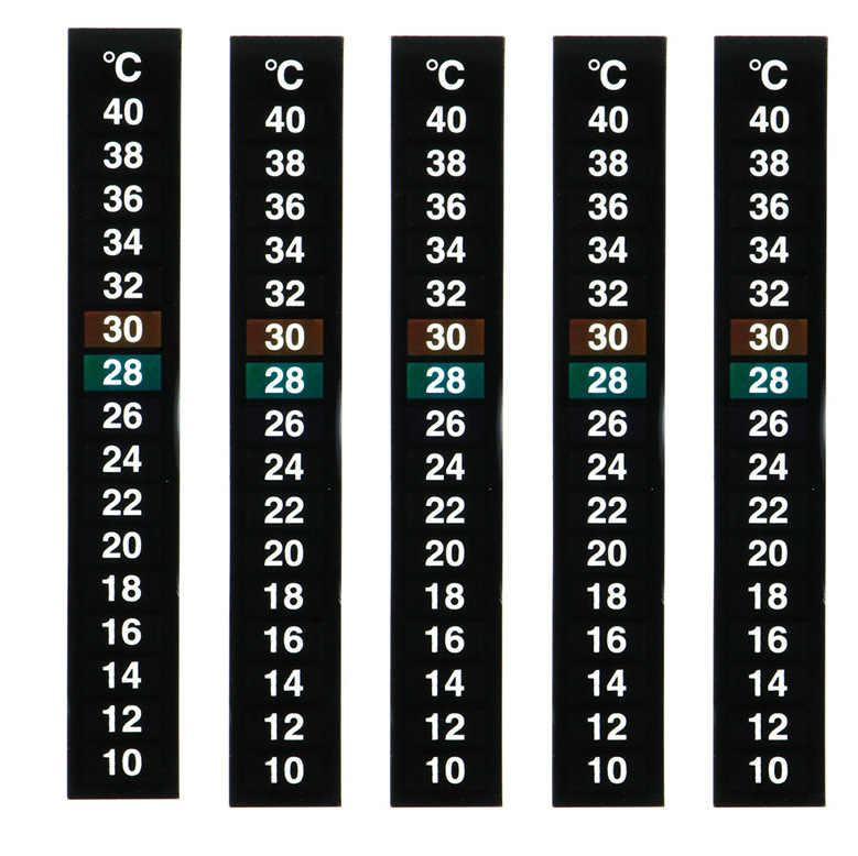 Шт. 1 шт. цифровой аквариум термометр Температура Стикер Двойной весы