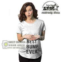 T-shirts for Pregnant Women Cotton O-Neck Short Sleeve Funny Maternity Shirts Tops Nursing Top Clothes Mommy Wear