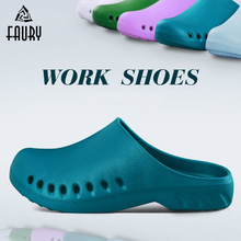 Soft Medical Slippers Hospital Surgical Scrub Shoes Cleanroom Lab SPA Work Shoes Doctors Nurses Workwear Medical Accessories