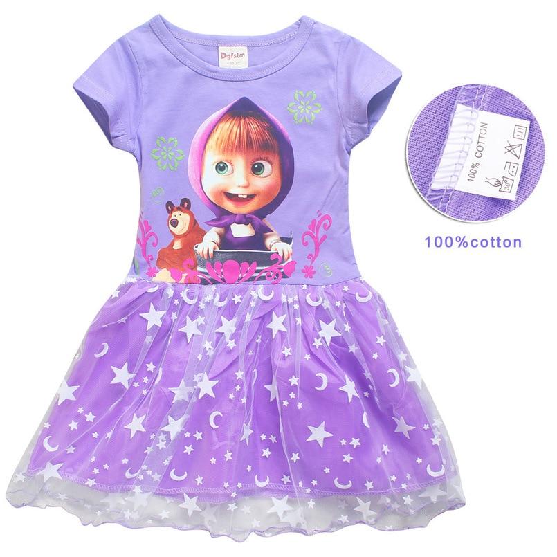 c971f24719516 Vêtements de bébé fille robe de bande dessinée vêtements enfants à ...
