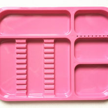 1 шт. розовый автоклавируемое, стоматологическое лоток для инструментов Разделение