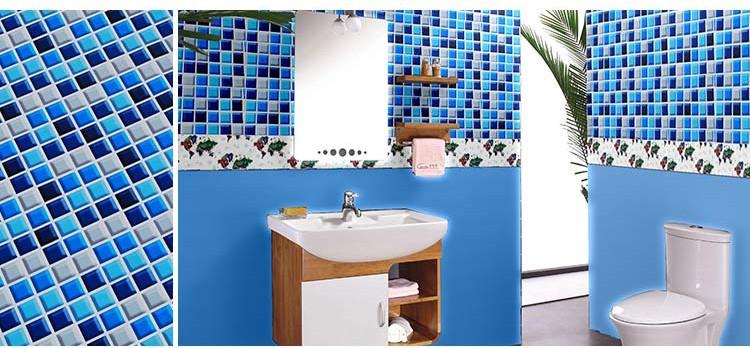 Mustrilised veekindlad seinakleepsud