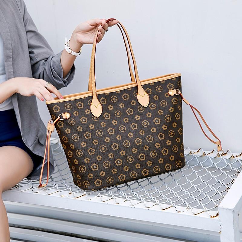 High Capacity Europe Women Fashion Luxury Handbags Tote Bag High Quality Casual large capacity Shoulder Bags
