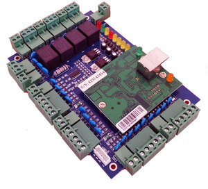 Image 4 - Tcp/ip dört kapı erişim kontrolü, ağ erişim kontrol panosu erişim sistemi/zaman katılım desteği RFID QR okuyucu sn:L04