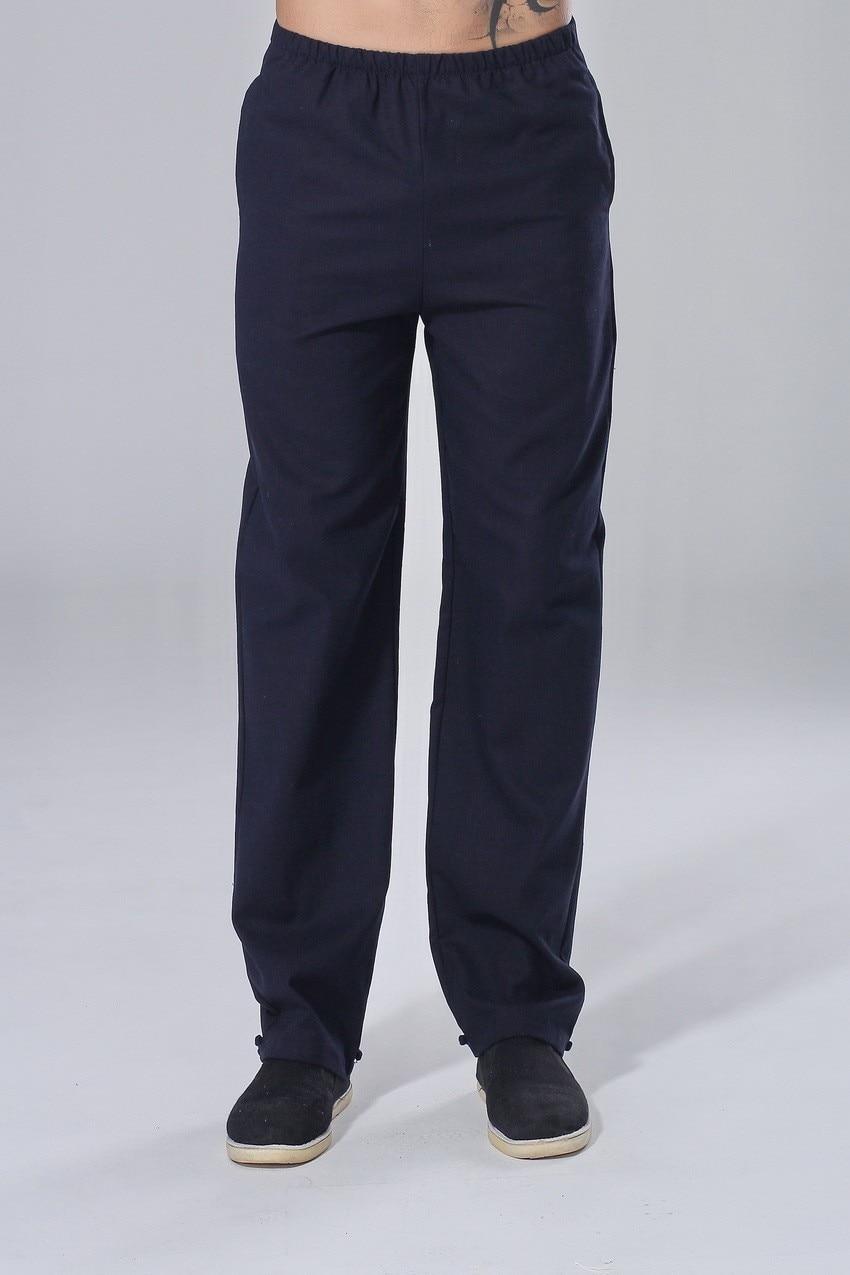 mens navy blue linen pants - Pi Pants