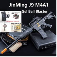 Jinming M4A1 J9 JM J9 Gen 9 Gel Blaster Nylon Replica V2 Gear Box Electronic Water Gel Ball Gun WIth SEMI/Auto Function