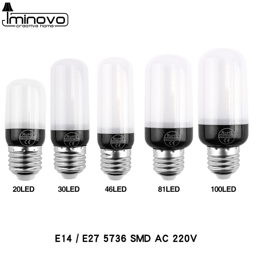LED Bulb E27 Lamp E14 Corn Light Lampada Spotlight Bombillas SMD5730 5736 220V Chandelier Candle CFL Ampoule For Home Decoration enwye e14 led candle energy crystal lamp saving lamp light bulb home lighting decoration led lamp 5w 7w 220v 230v 240v smd2835