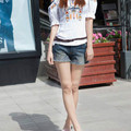New maternity summer wear pants of pregnant women  bull-puncher knickers Abdominal pants maternity jeans shorts