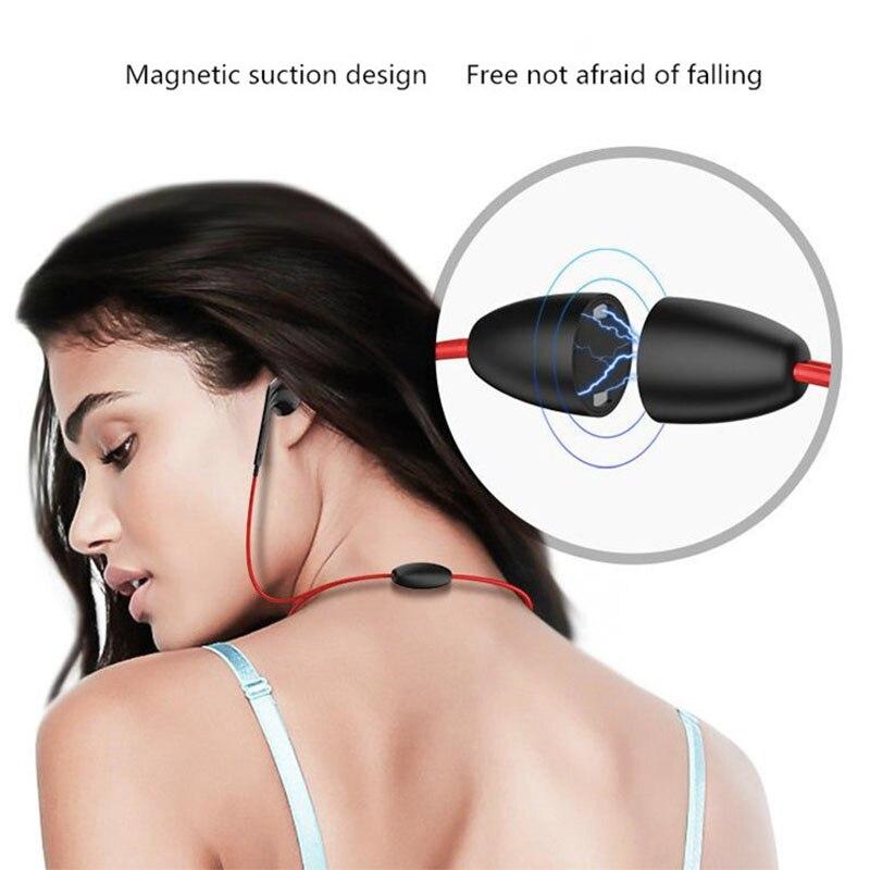 Neckband Sweatproof Handsfree Stereo Sport Headset Wireless