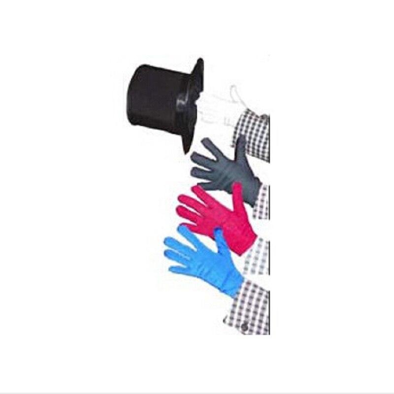 Besplatna dostava boja mijenja rukavice više Quick Change s rukavicama pozornici čarobne trikove čarobne rekvizite