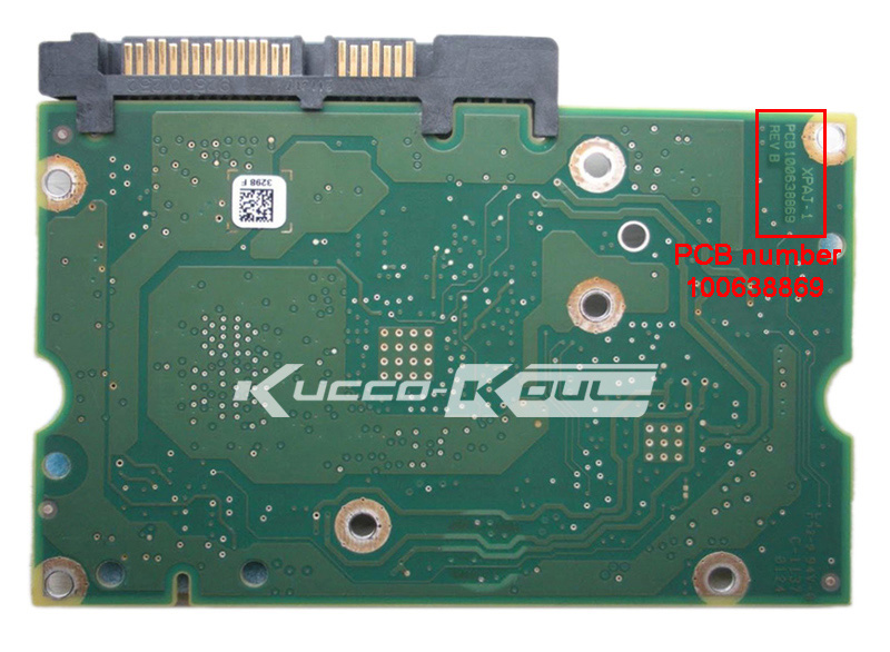 hard drive parts PCB board printed circuit board 100638869 for Seagate 3.5 SATA hdd data ...