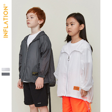 INFLATION Kids 2019 Summer Sun-proof Clothing Boys Thin  Jacket Sunscreen Windbreaker Jackets Childrens SW9612