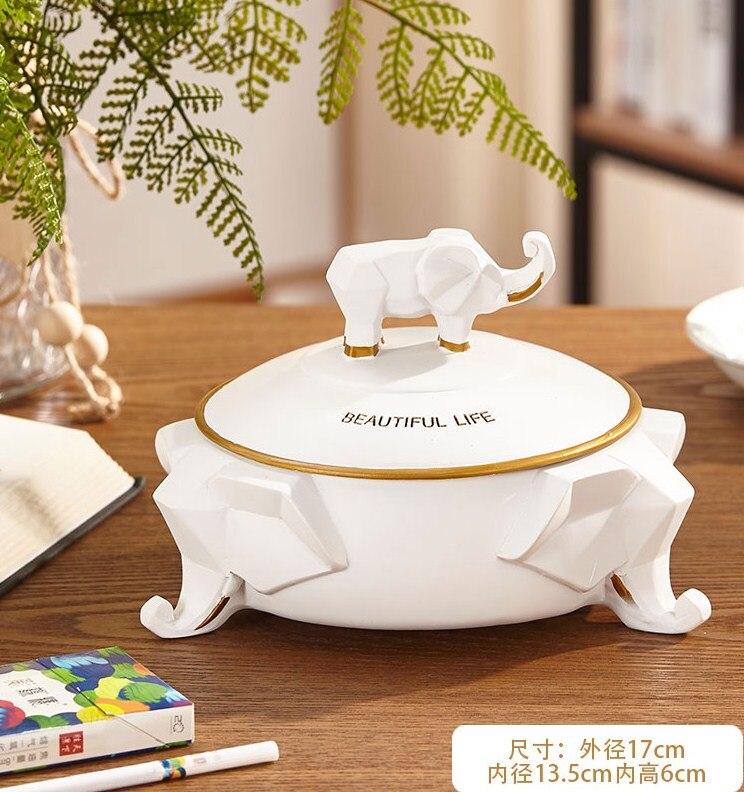Нордическая Смола слон коробка для салфеток ретро гостиная многофункциональный ящик для хранения пультов дистанционного управления домашнее бумажное полотенце домашний декор