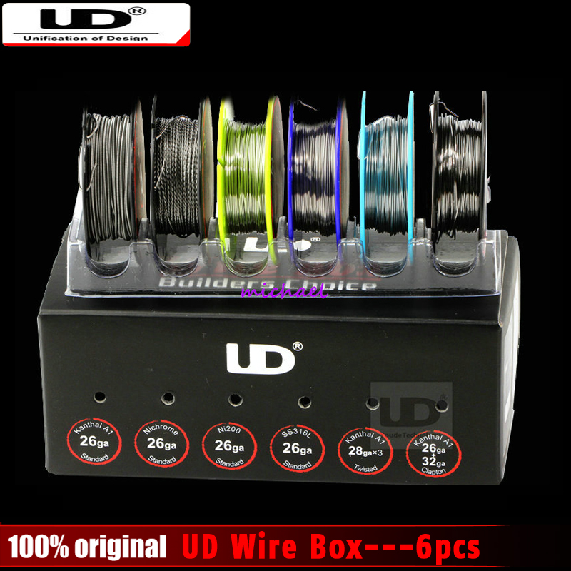 2016 New 100% Original Youde UD Wire Box with 6 kinds of wires ...